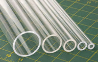 Cut-to-Size Clear Acrylic Tube