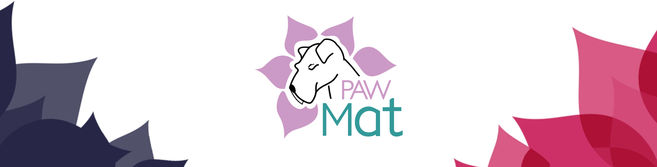 PawMat Logo with Flowers