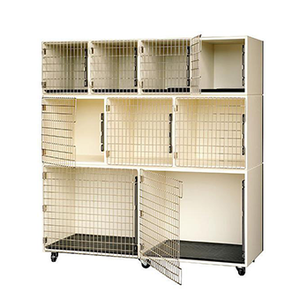 PawMat Pets | PetLift PROFESSIONAL VETERINARY & GROOMING CAGE BANKS  4 by 3 by 2