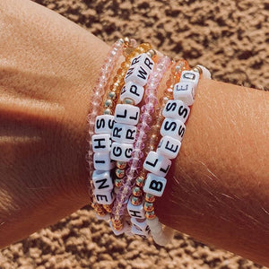 GIRL POWER - Crystal Bracelet