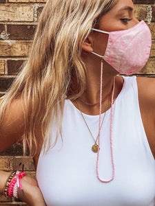 Pink Beaded Chain