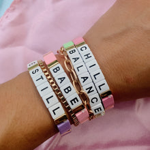 Load image into Gallery viewer, Block Bracelet - BABE