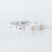 Load image into Gallery viewer, Block Bracelet - FAITH