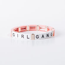 Load image into Gallery viewer, Block Bracelet - GIRL GANG