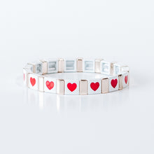 Load image into Gallery viewer, Block Bracelet - LOVE ALL AROUND