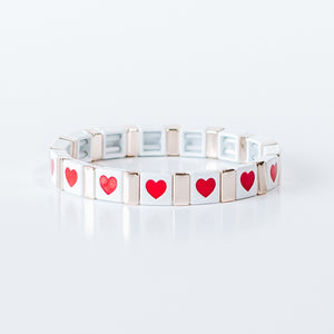 Block Bracelet - LOVE ALL AROUND