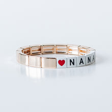 Load image into Gallery viewer, Block Bracelet- NANA