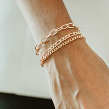 Load image into Gallery viewer, Layering Bracelet - BOXY CHAIN