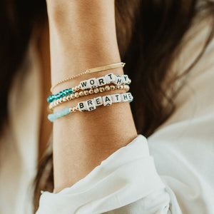 BREATHE - Crystal Bracelet