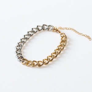 Layering Bracelet - DUO CHAIN