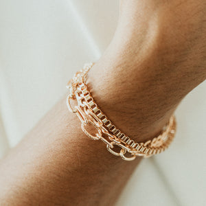 Layering Bracelet - LINK CHAIN