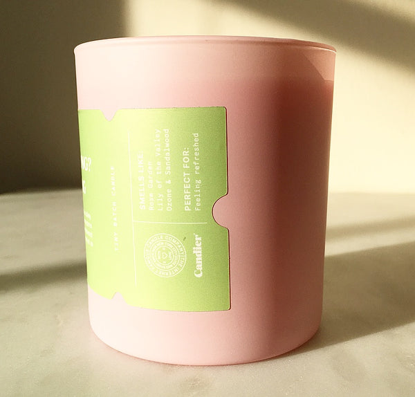 SPRING FLORALS CANDLE