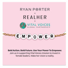 Load image into Gallery viewer, SUPPORT WOMEN - EMPOWER BRACELET