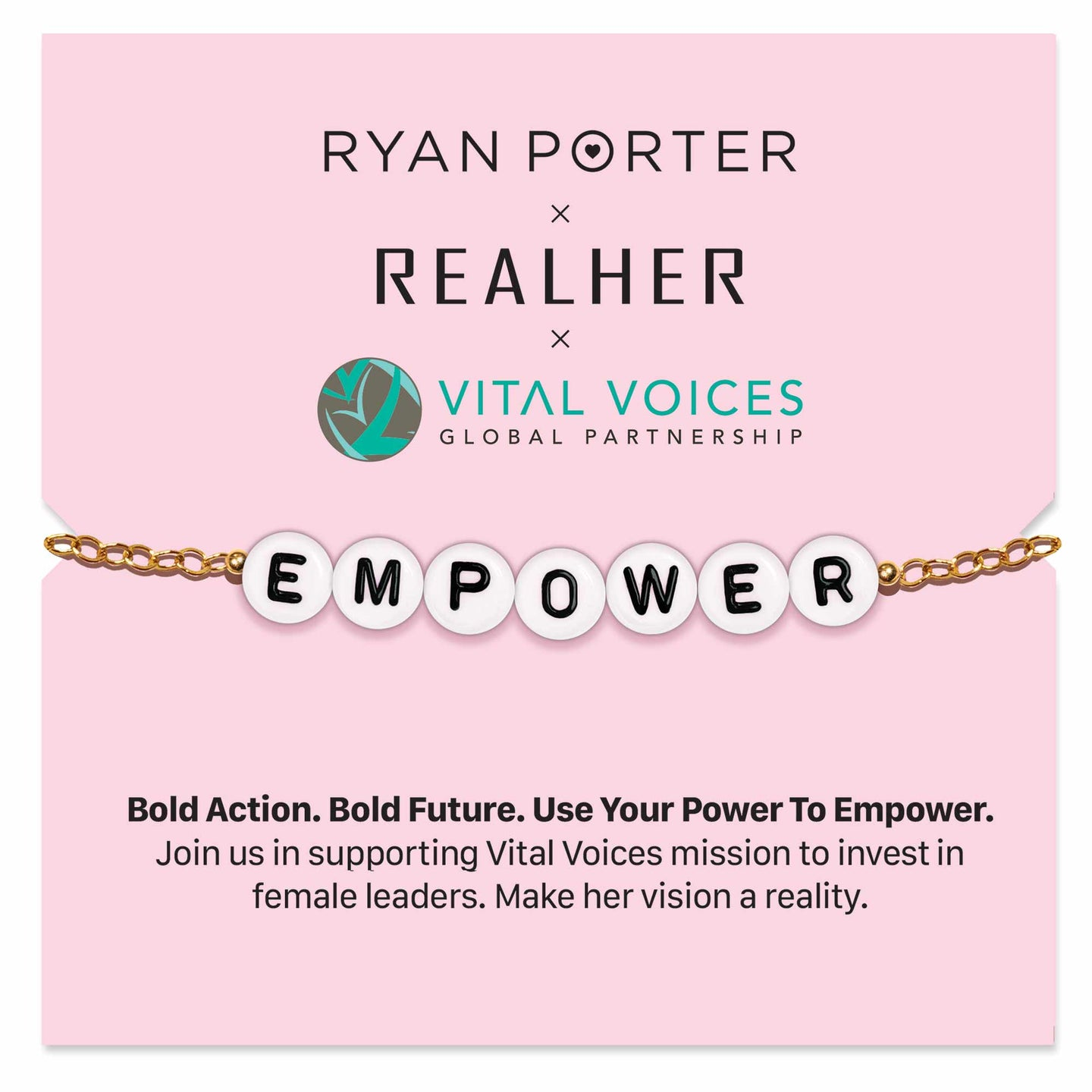 SUPPORT WOMEN - EMPOWER BRACELET