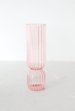 TALL GIRL PINK VASE