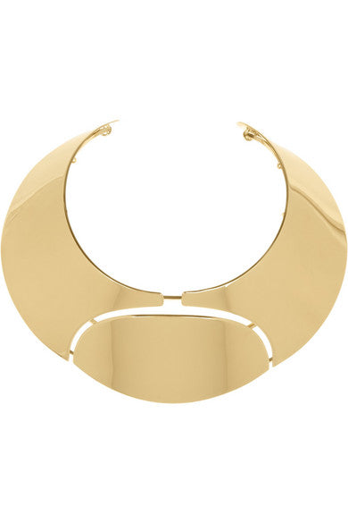 Lanvin Gold Oracle Choker
