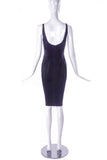 Dolce & Gabbana Early/Mid Nineties Black Body Con Lingerie Dress