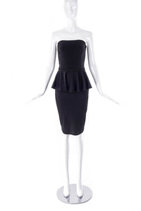 Stella McCartney Peplum Tier Cocktail Dress - BOUTIQUE PURCHASE PRICE