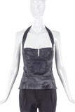 Christian Dior by John Galliano Lace Halter Neck Corset SS2004