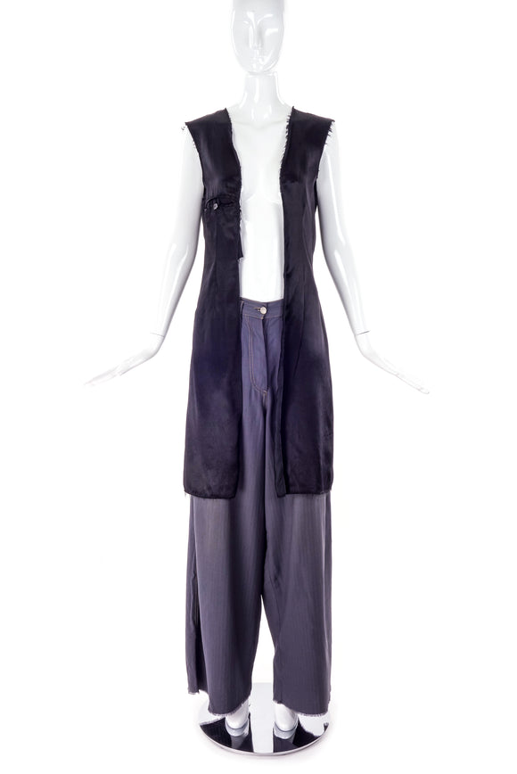 Satin Lining Vest by Martin Margiela - Reproduction D'UNE Series