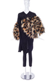 Junya Watanabe Faux Fur Leopard Flintstone Top/Dress