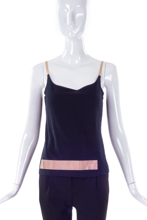 Helmut Lang Rubber Stripe Tank Top SS1997