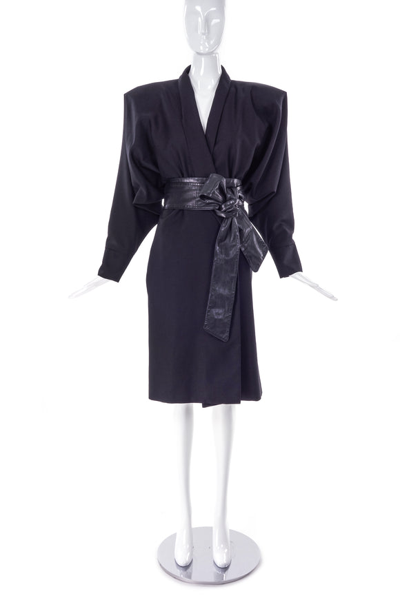 Maison Martin Margiela Oversized Pointed Shoulder Kimono Coat FW2007