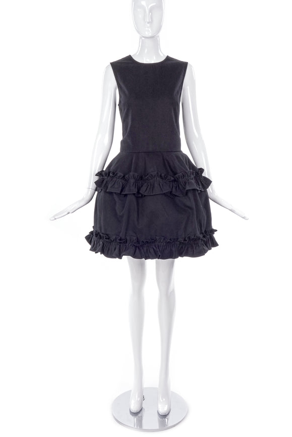 Simone Rocha Black Denim Dress