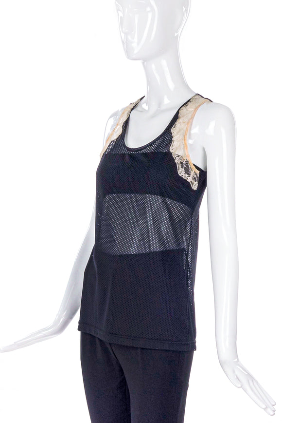 Helmut Lang Mesh and Lace