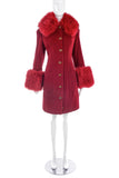 "Vivienne Westwood Iconic Red ""Poodle"" Coat"