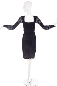 Yves Saint Laurent by Tom Ford Sweater and Silk Jersey Skirt