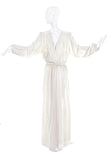 Roksanda Ivory Wrap Dress Goddess Gown - BOUTIQUE PURCHASE PRICE