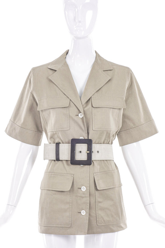 Saint Laurent Rive Gauche Safari Jacket Circa 1960's