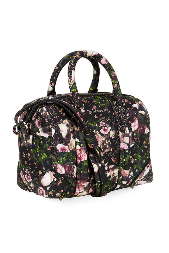 Givenchy Pink Flower Print Lucrezia Bag - BOUTIQUE PURCHASE PRICE