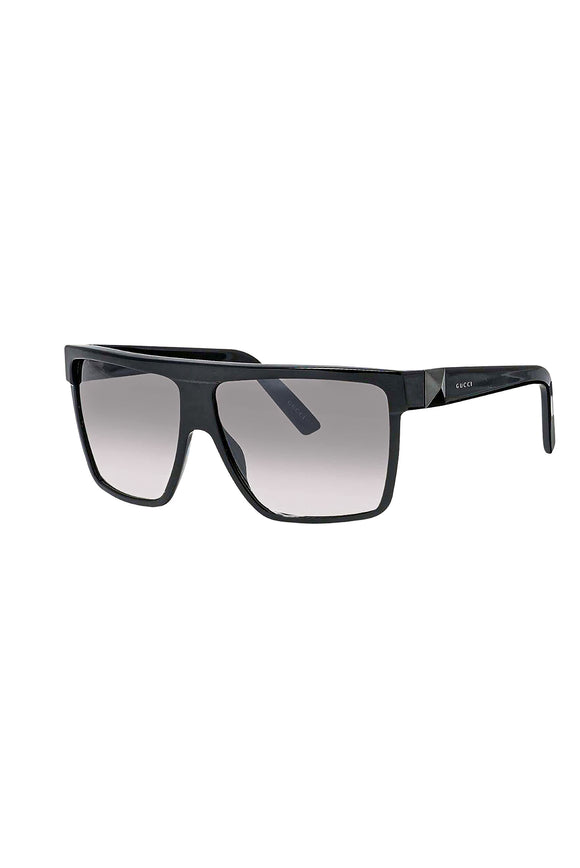 Gucci Black Studded Square Power Sunglasses Fall Winter 2009 Collection 3100/s