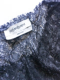 Yves Saint Laurent Double Layer Chantilly Lace Tank Top - BOUTIQUE PURCHASE PRICE