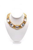 Yves Saint Laurent Gold Diamond Necklace