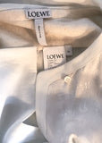 Loewe Oversized Silk Jacquard Print Blouse - BOUTIQUE PURCHASE PRICE