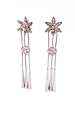 Christian Dior by John Galliano Flower Blossom Japanese Fall 2003 Earrings