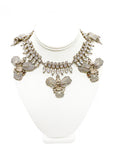 Givenchy Crystal Orchid Necklace