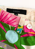 Gucci Tropical Floral Print Trouser SS1999 - BOUTIQUE PURCHASE PRICE