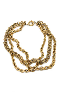 Givenchy Gold Multi-Chain Necklace