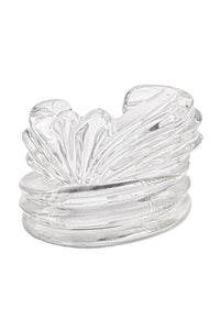 Patricia Von Musulin Carved Lucite Cuff Set