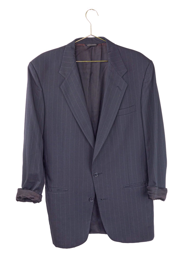 Pierre Cardin Pin Stripe Oversized Blazer