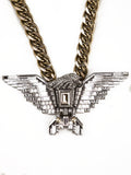 Lanvin Art Deco Eagle Runway / Ad Campaign Necklace SS2012