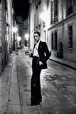 Yves Saint Laurent Black Pin Stripe 'Le Smoking' Suit