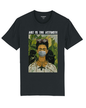"Charger l'image dans la galerie, T-shirt  ""Art Is The Antidote"" - Kahlo II"