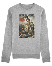 "Charger l'image dans la galerie, Sweatshirt ""Art Is The Antidote"" - Lacroix"