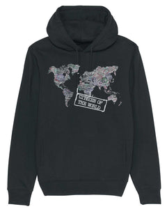 "Sweatshirt à Capuche ""Citizen of The World"""