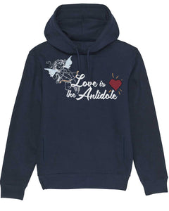 "Sweatshirt à Capuche ""Love Is The Antidote"""